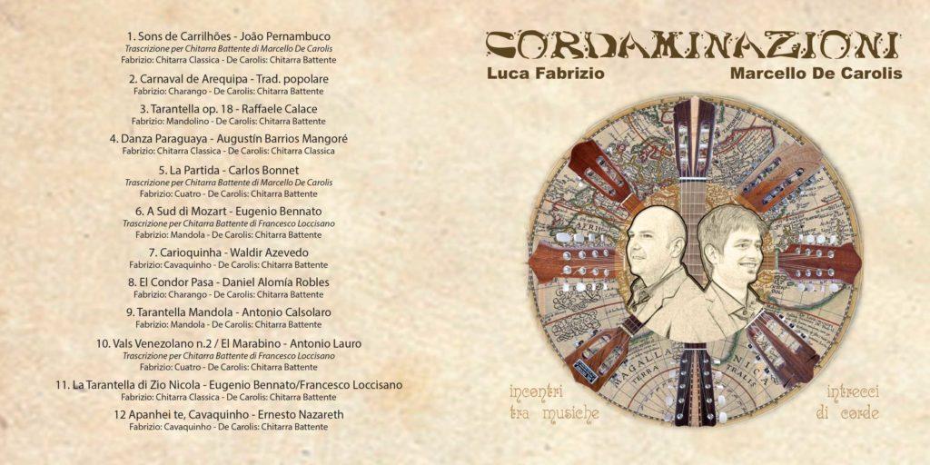 Discografia di Cordaminazioni: duo musica Sud Italia e Sud America