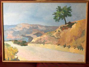 Albero solitario di Maria Padula, per gentile concessione di Rosa Maria Leone e famiglia