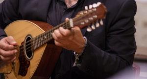 Mandola del musicista lucano Luca Fabrizio (Cordaminazioni)