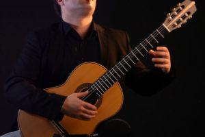 Chitarra classica costruita da Giuseppe Guagliardo per Marcello De Carolis (Cordaminazioni)