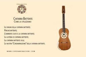 Chitarra battente del duo cordaminazioni, le origini e il suo utilizzo con chitarra classica mandolino mandola cuatro charango e cavaquinho
