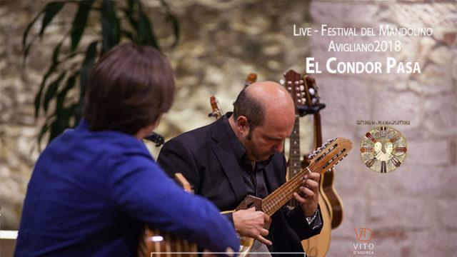 El Condor Pasa nella versione Live per charango e chitarra battente del duo Cordaminazioni (Luca Fabrizio e Marcello De Carolis) durante il Festival del mandolino di Avigliano - Basilicata