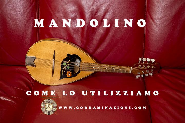 Il mandolino come lo utilizziamo noi di Cordaminazioni (Luca Fabrizio e Marcello De Carolis)