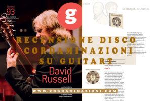 La rivista Guitar recensite il disco Cordaminazioni