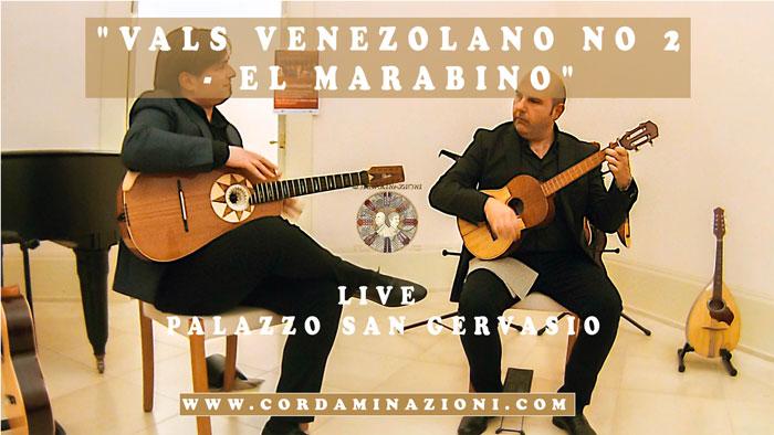 """Antonio Lauro """"Vals Venezolano no 2 - El Marabino"""" Eseguito dal duo cordaminazioni con Luca Fabrizio al Cuatro e Marcello De Carolis alla chitarra battente"""