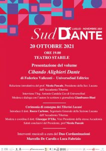 sud Dante al teatro stabile di Potenza Basilicata concerto del duo Cordaminazioni